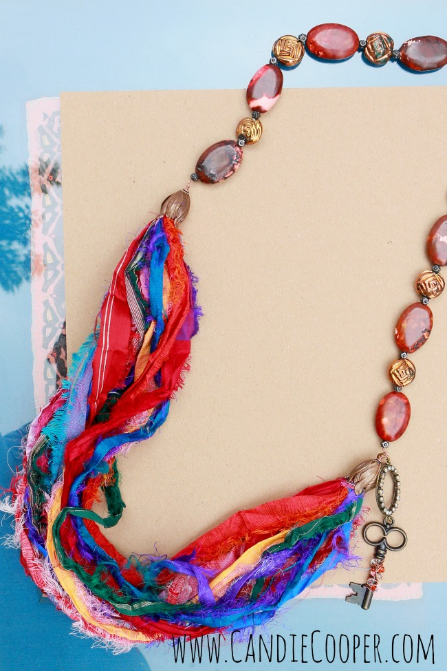Candie Cooper Silk Necklace
