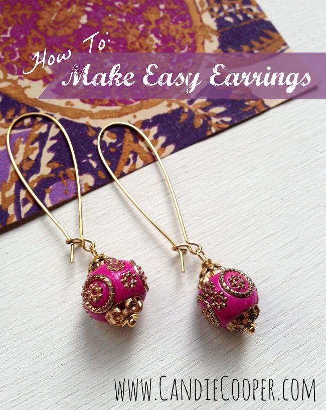 How To Make Easy Earrings