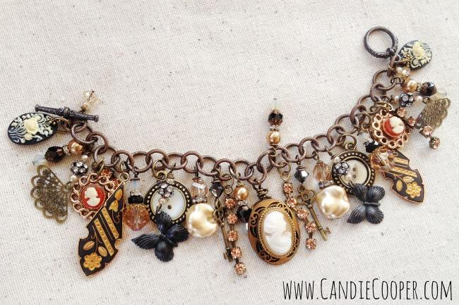 Candie Cooper Charm Vintage Bracelet.jpg