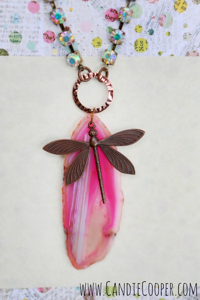 Candie Cooper Dragonfly Necklace