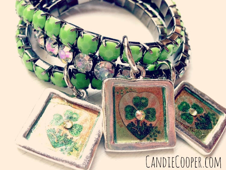 Candie Cooper St Patrick's Day Jewelry Charms