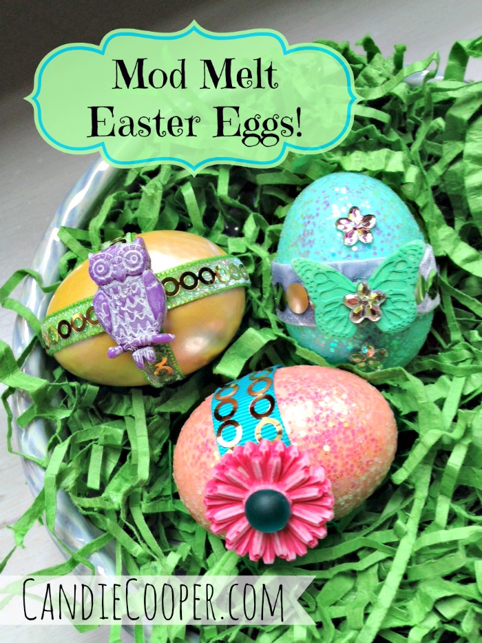 Mod Melt Easter Eggs from Candie Cooper