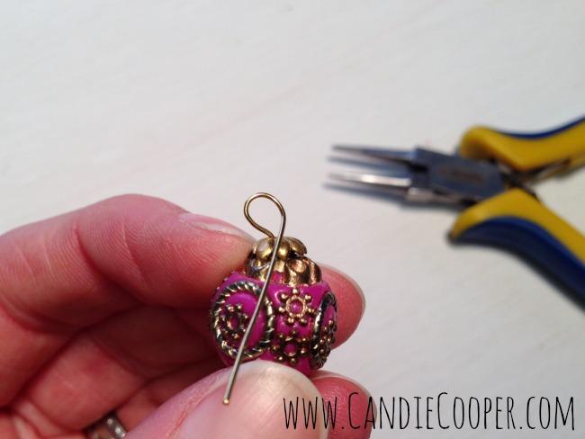 How to Make Easy Earrings 3
